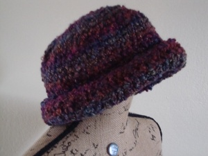 Stylish Brimmed Hat  left side view