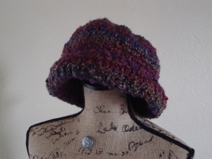 Stylish Brimmed Hat front view