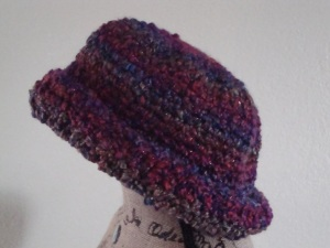 Stylish Brimmed Hat side view