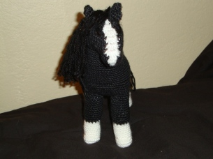 Black Horse front view